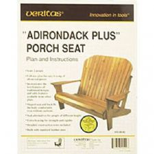 'Adirondack Plus' Porch Seat and Footstool Plan